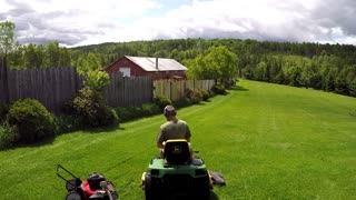 How to mow your lawn in half the time