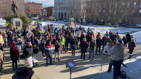 Demonstrators Protest NH Governor's Private Inauguration
