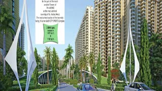 Gaur City 7th Avenue housing development society - Video