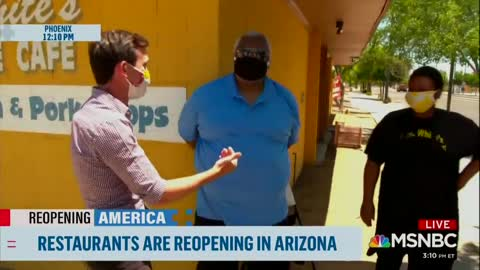 AZ Business Owner Says He's Not Putting His Elderly Mother At Risk