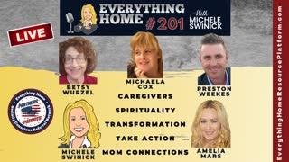 201 LIVE: Caregivers, Spirituality, Transformation, Take Action & Mom Connections *MUST LISTEN TO*