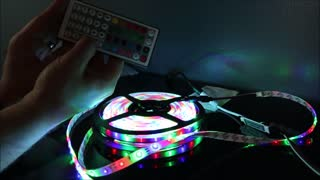 BMOUO LED Light Strip Review  - Video