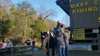 Horseback Riding for First Time