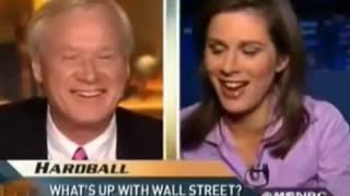 Creepy Chris Matthews Drools Over CNN Reporter Erin Burnett - Video