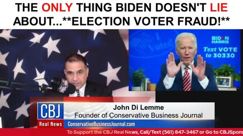 Joe Biden and what he DID Not LIE ABOUT!! **Voter Fraud**!!! :)