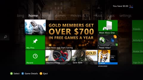 How to Redeem a Prepaid Code on the Xbox 360 console