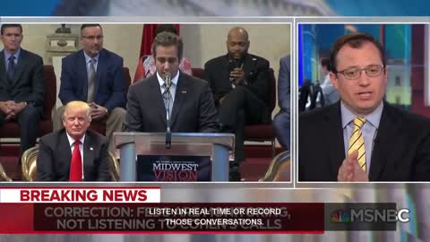 NBC retracts! Cohen wasn't 'wire-tapped,' They were monitoring, not liistening