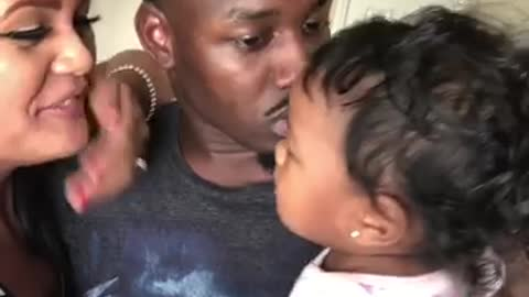 Daddy Needs Kisses Too!