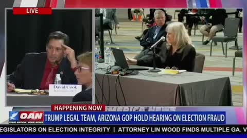 Witness at Arizona Hearing: 'truckloads of ballots were coming in'