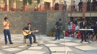 college function music program students  - Video
