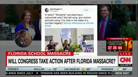 Former Congressman Jack Kingston Dismisses Parkland Shooting Activists