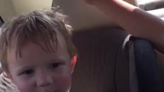 Toddler adorably attempts to pronounce