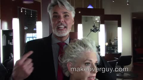 MAKEOVER: I Want A More Professional Look, by Christopher Hopkins, The Makeover Guy®