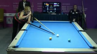 Top Female Billiard Player, Kristina Grim!
