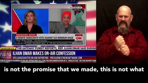 Ilhan Omar makes on-air confession about Trump that NO ONE saw coming