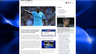 YAYA TOURE READY TO LEAVE MANCHESTER CITY! - Video