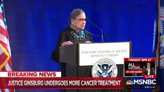 Justice Ginsburg underwent cancer treatment again