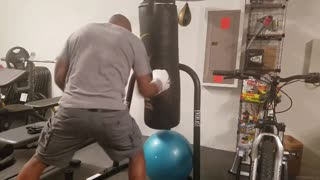 Fun with the Heavy Bag  - Video