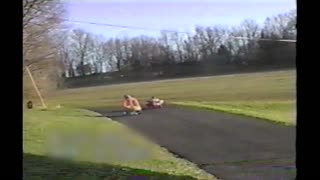 Little Kids Epically Wreck Their Pedal Cars In Downhill Race