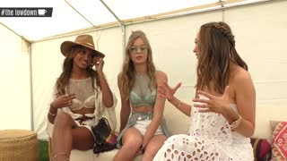 Victoria's Secret Angels Josephine Skriver & Jasmine Tookes Coachella 2017 Interview - The LowDown - Video
