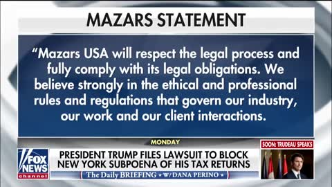President Trump Files Lawsuit To Block New York Subpoena Of Tax Returns [VIDEO]