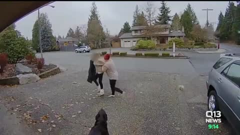 Nanny Catches Thief Stealing Package From House and Karma Just Did Its Job