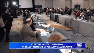 Election Integrity Hearing With Select Members of Arizona's Legislature | NTD Highlights
