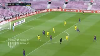 Gol de Messi vs Las Palmas (2-0) - Video