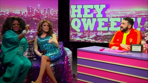 Morgan McMichaels on Hey Qween with Jonny McGovern