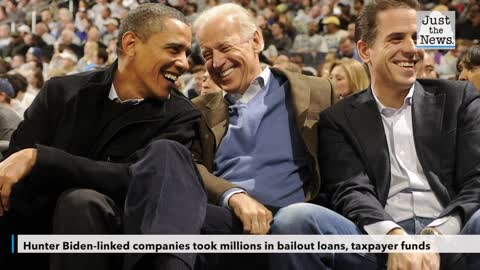 Hunter Biden-linked companies took millions in bailout loans, taxpayer funds