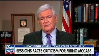 Gingrich Thinks Trump's Tweets Only Make Mueller Bigger And Stronger - Video