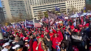 Must See Video! DC Police Estimate TRUMP March Topped 1 Mill