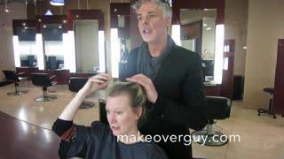 MAKEOVER: Fine Thin Hair to a Shocking Pixie, by Christopher Hopkins, The Makeover Guy® - Video