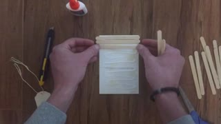 Popsicle Stick Photo Gift DIY - Video
