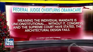 Texas federal judge strikes down Obamacare as unconstitutional
