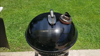 003 Memorial Day Low and Slow cook on a Weber Kettle