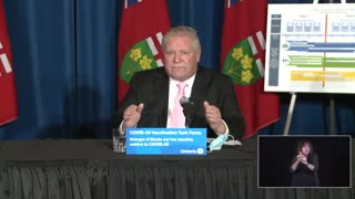 Premier of Ontario Doug Ford, 01/13/21