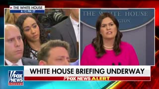 Sarah Sanders takes down criticism of Iran deal decision by Kerry, Clinton & Obama - Video