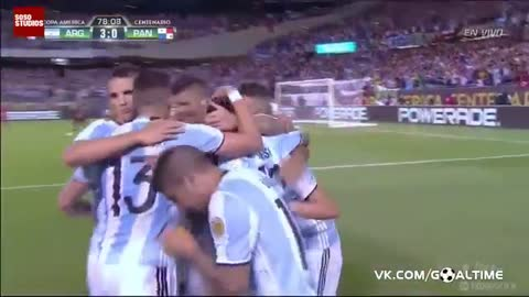 VIDEO: Messi scores hat-trick in 19 minutes for Argentina