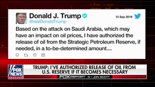 Fox News report on Saudi oil attack
