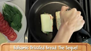 Caprese Grilled Cheese Sandwich, Food For The Refined Cheesehead - Video