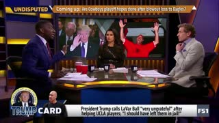 """Shannon Sharpe: I See Why President Trump Used The Word """"Ungrateful"""" On LeVar Ball! - Video"""