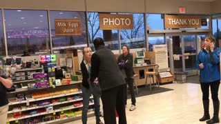 Lady Goes Crazy After Shoplifting - Video