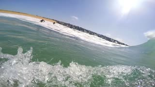 Bodysurfing POV - Video