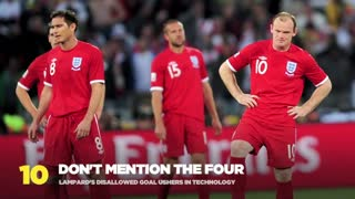 Top 10 Painful England Moments - Video