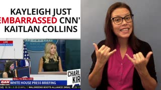 Press Secretary Kayleigh Just Embarrassed CNN's Kaitlan Collins