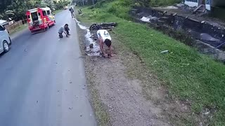 The Motorcycle That Took The Wrong Turn  - Video