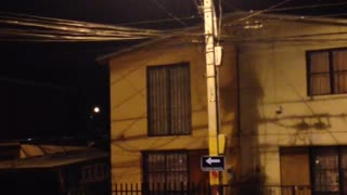 A Huge Earthquake Hits Chile - Video