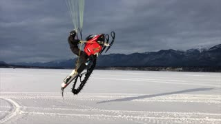 Anti Gravity Snowmobile - Video