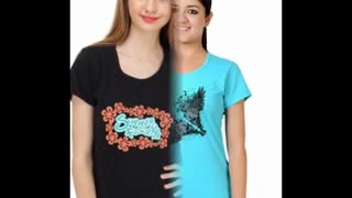 Funny Design T Shirt for Women - Video